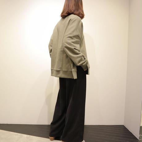 tranoi オーバーサイズスウェット(khaki)