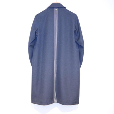 NULABEL MAC COAT(fog blue)