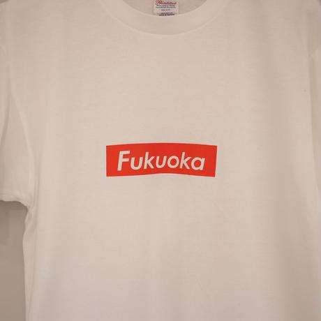 FUKUOKA ロゴT ホワイト