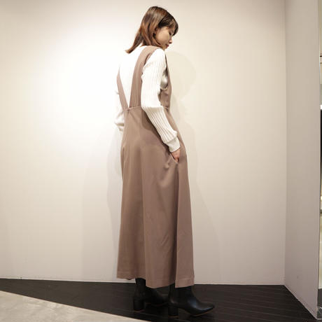 siim ジャンパースカート(mocha,black)