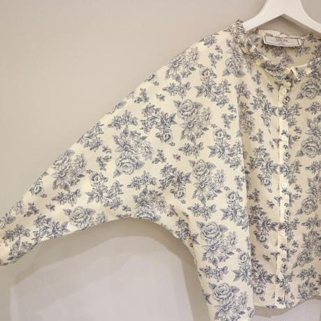 THOMAS MAGPIE フラワープリントシャツ ( アイボリー )