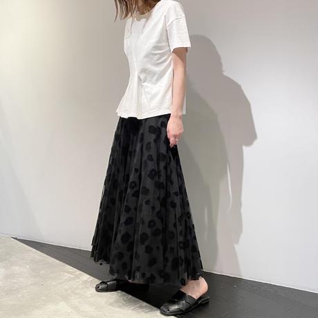 tranoi チュールスカート ( レオパード)