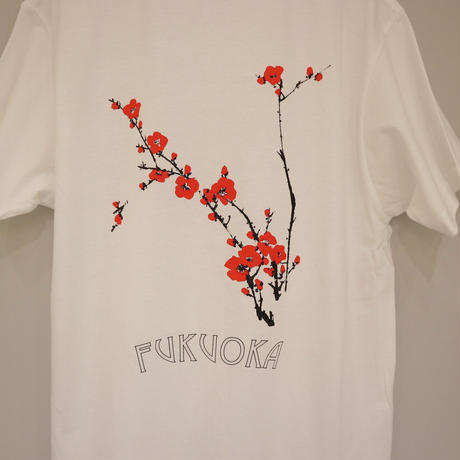 梅の花 Tシャツ