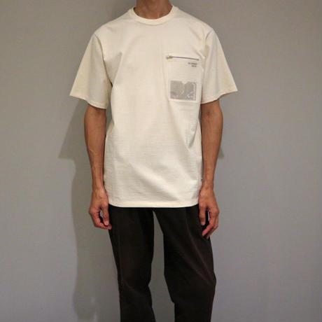 NULABEL IDポケットTシャツ ( ナチュラル )