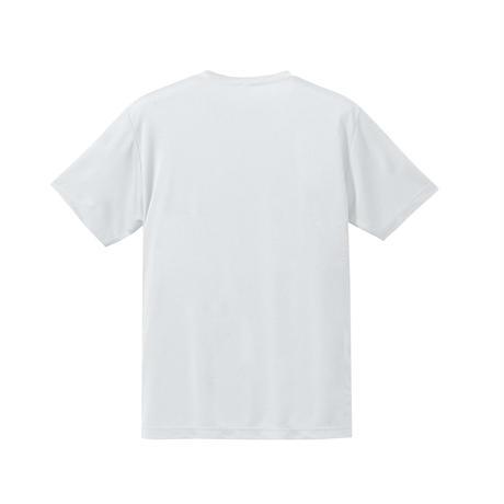リサイクルベーシックドライTシャツ ホワイト