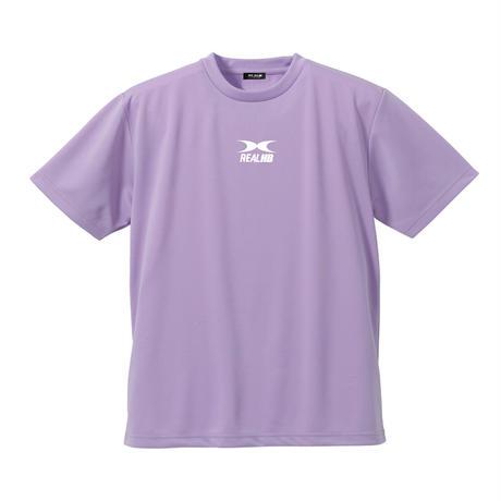 ビッグロゴ  ドライTシャツ パステルパープル