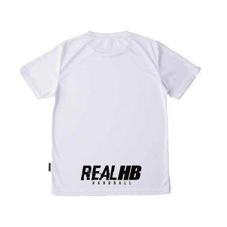 リサイクルポリエステル ドライTシャツ ホワイト