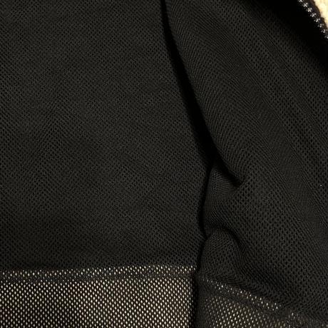 オーバーサイズボアZIPパーカー ブラック