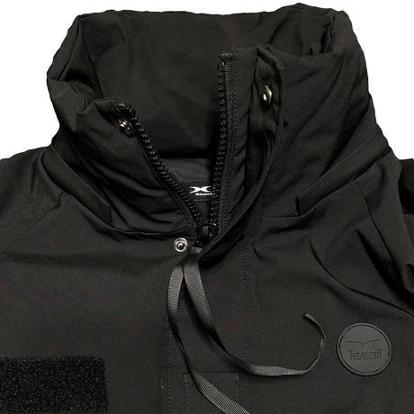 中綿ストレッチ ジャケット ブラック