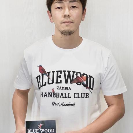 [ZIKOMOプロジェクトxREAL HB] コットンTシャツ ホワイト