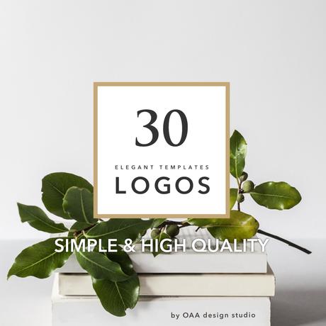 洗練されたシンプルなロゴ30