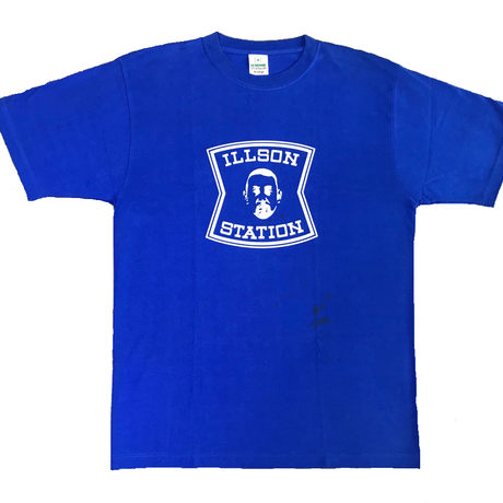 ILLSON STATION (Blue/XLarge/40%off for small stain)