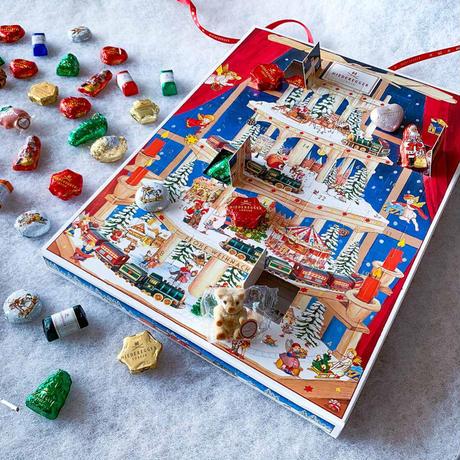 【ニーダーエッガー】アドベンツカレンダー 「ピラミッド」-ギフト用お手提げ袋付き-