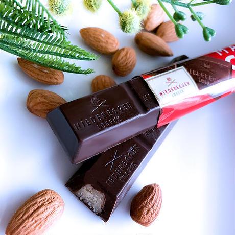 【ニーダーエッガー】マジパンスティック ビターチョコレート  4本セット