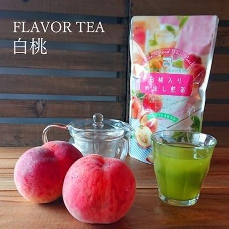 白桃入り水出し煎茶ティーバック 3g20パック入り 1袋   fruits  green tea peach