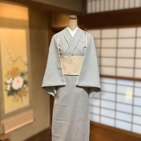 松阪もめん 白ヨコスラブNo.4