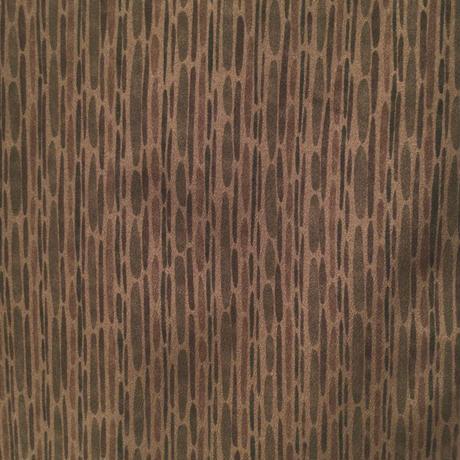 羽織 正絹 黄土色地に抹茶色等の途切れた縞柄 h72