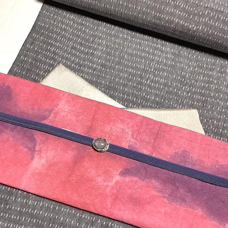 【セット商品】帯留め+帯〆(四分紐)