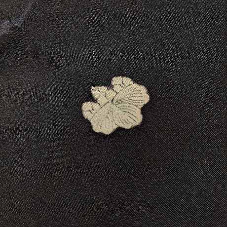 羽織 黒羽織・五三桐紋 h4