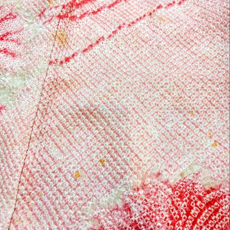 羽織 ピンク・総絞り h12