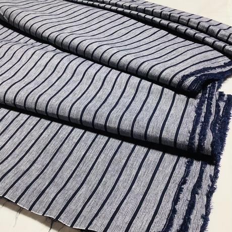 亀田縞 綿100%  ちぢみ(夏向き)