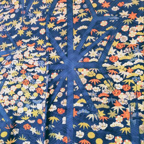 羽織 アンティーク 花柄・小紋 h7
