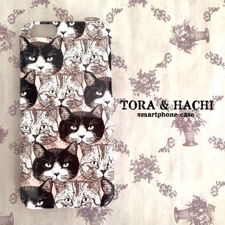 スマホケース CATS(NARABI)シリーズ/ Smartphone case