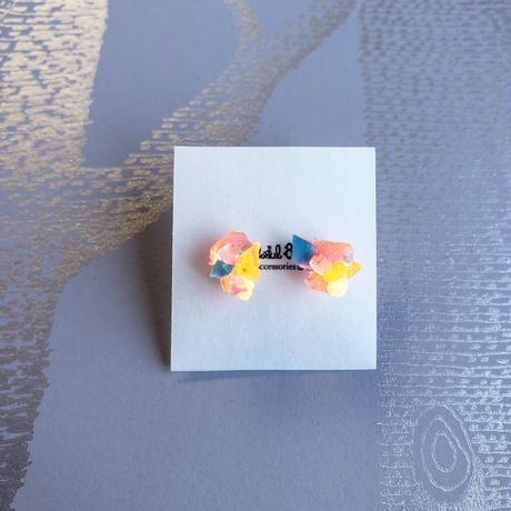 Colorful8nch. ピアス「植物採集」/ stud earring 'Plant collecting'