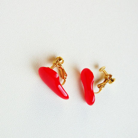 Bloodイヤリング/ Blood earrings