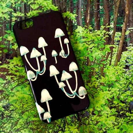 スマホケース・キノコシリーズ/ Smartphone case