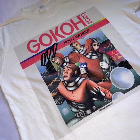 """ GOKOH "" Jacket T-shirt / OFF-WHITE"