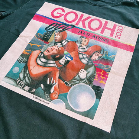 """ GOKOH "" Jacket T-shirt / BLACK"