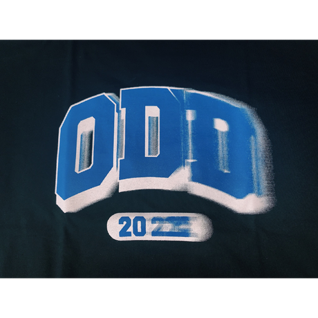 """ODD Time Leap College"" T-shirt ( original tag print ) Blue ver."