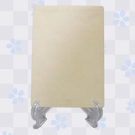 【複製サイン入り限定ノベルティ付き】「白皙」九谷焼アートパネル(スタンド付き)2