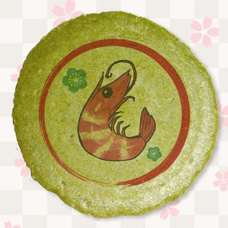 【書き下ろし・複製サイン入り熨斗付き】「カスカベアキラ」えびチーズサンドせんべい4枚入り