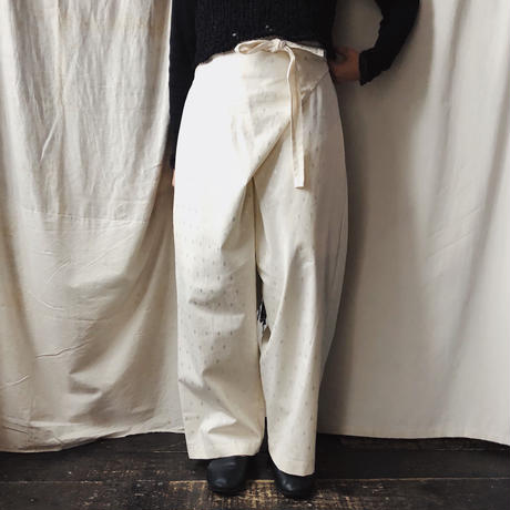 wrap pants / NATIVE VILLAGE