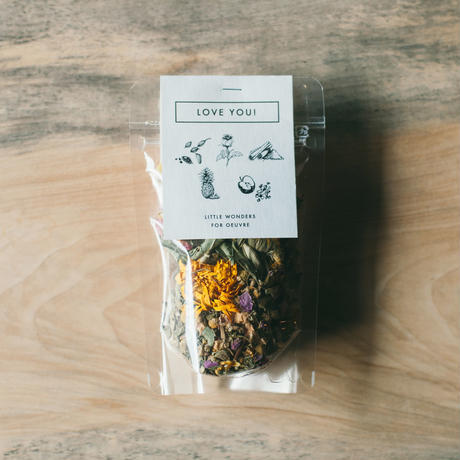 再入荷 ORIGINAL BLEND HERB TEA - LOVE YOU!