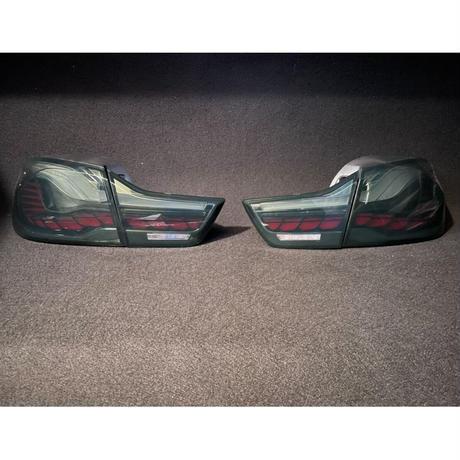 取付工賃込!! BMW 4シリーズ クーペ F32/F82 M4 前期用 後期GTSスタイル スモーク LED テール 商品番号4668