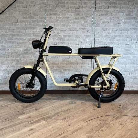 FLOW 電動 ミリタリー 自転車 充電式 サンドベージュ 商品番号4637