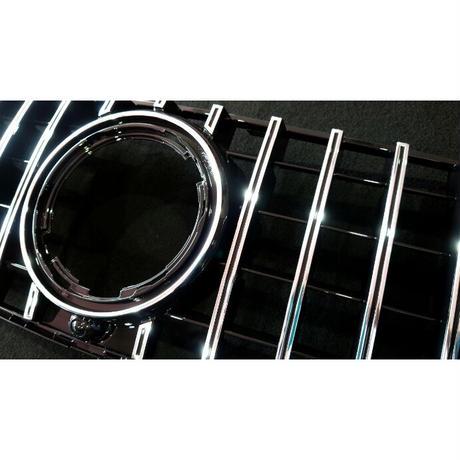 ベンツ GLEクラス W167 AMG-Line専用 パナメリカーナグリル 縦フィン/GTR仕様 商品番号4527