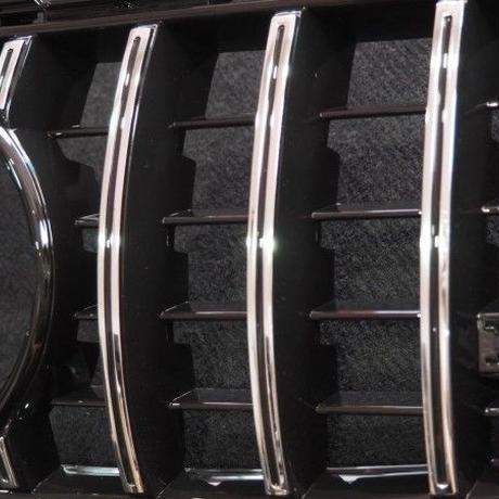 取付工賃込!! ベンツ Cクラス W205 前期 AMG C63専用 パナメリカーナグリル 商品番号4371