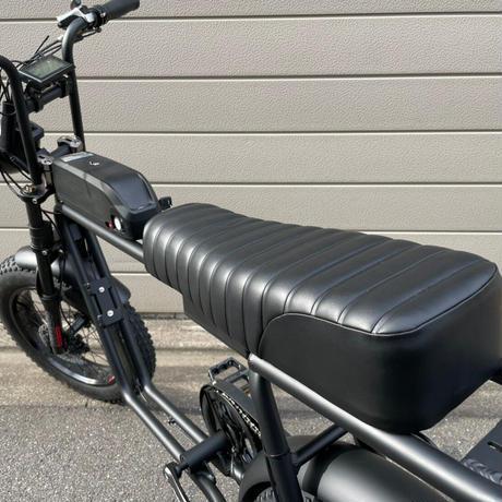 FLOW 電動アシスト ミリタリー 自転車 充電式 マットブラック 商品番号4636