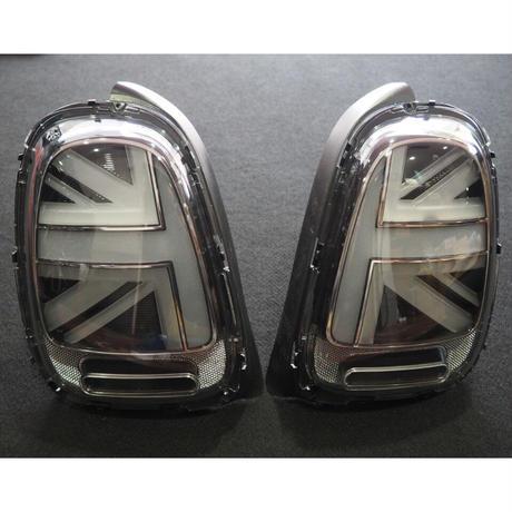 BMW MINI F55/F56/F57 前期用 ユニオンジャック LEDテールランプ スモーク 後期仕様 ミニ 商品番号4304