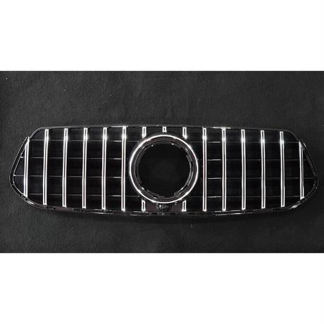 取付工賃込!! ベンツ GLEクラス W167 AMG-Line専用 パナメリカーナグリル 縦フィン/GTR仕様 商品番号4527T