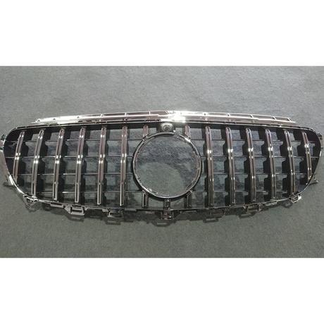 ベンツ Eクラス クーペ C238 パナメリカーナグリル オールブラック 縦フィン/GTR仕様 商品番号4455