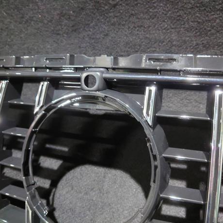 取付工賃込!! ベンツ Eクラス W213 後期 スポーツバンパー用 パナメリカーナグリル 縦フィン/GTR/E53仕様 商品番号4578