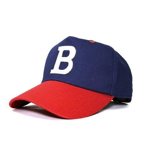 CPB-05 ロゴ ベースボールキャップ CAP BIGWATCH ネイビー/レッド
