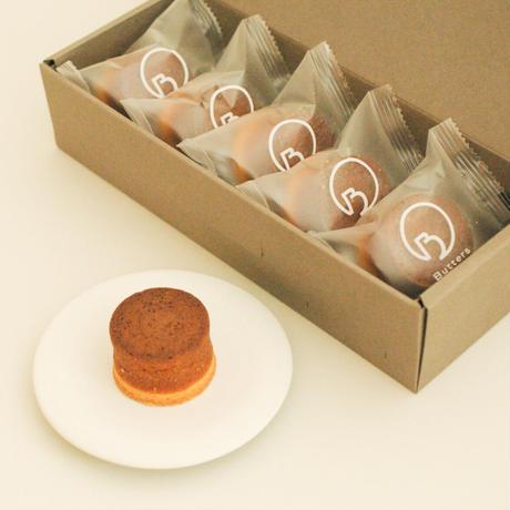 クラフトバターケーキ プレーン&塩キャラメル 5個入×2箱