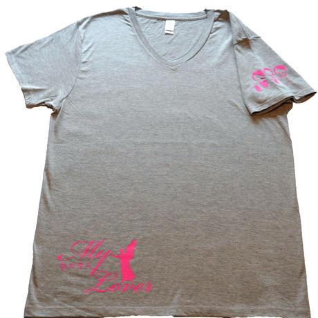 「私の恋人」Tシャツ(グレー)