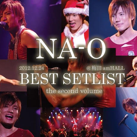 LIVE DVD『BEST SETLIST the second volume @amHALL 2012.12.24』